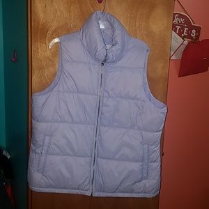 Lilac Puffer Vest